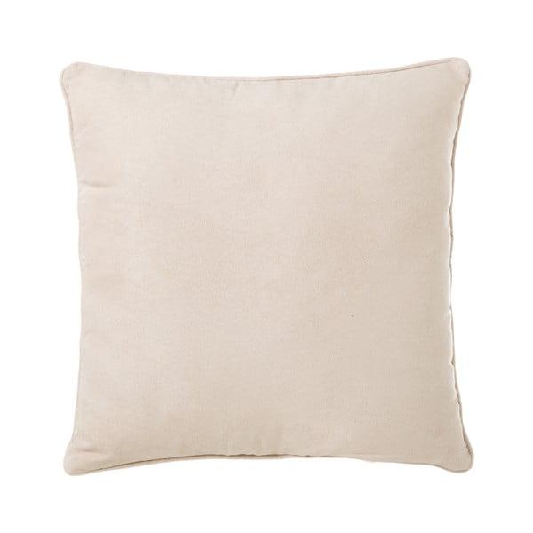Beżowa poduszka Unimasa Loving, 45x45 cm