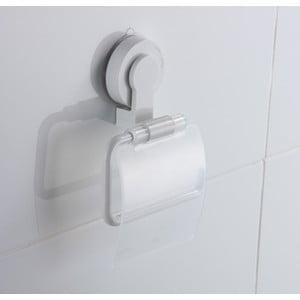 Suport pentru hârtie igienică cu montare fără găurire ZOSO Tissue White