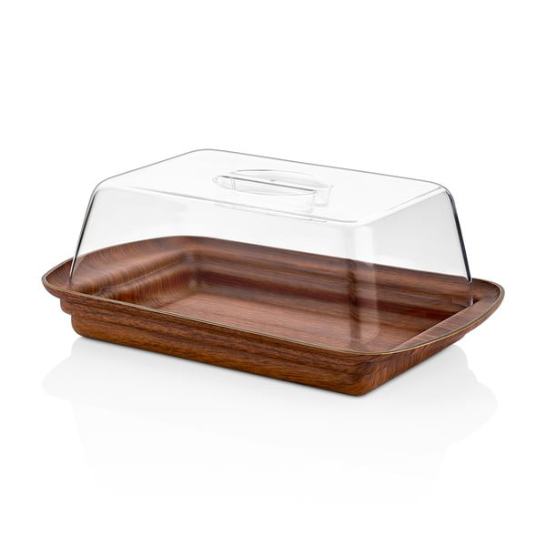 Pojemnik z kloszem/maselniczka Evelin, 29x18,5 cm