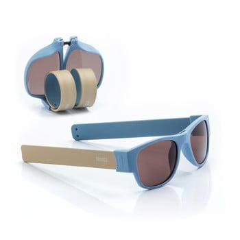 Ochelari de soare pliabili InnovaGoods Sunfold AC5, albastru poza
