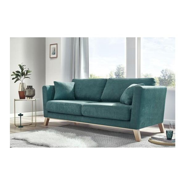 Canapea cu 3 locuri Bobochic Paris Doblo, albastru