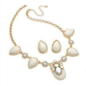 Set náhrdelník a náušnice Michelle Creme