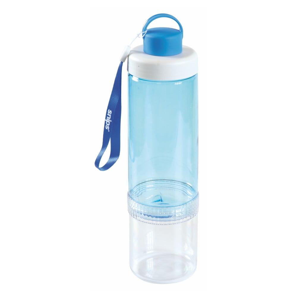 Modrá lahev na vodu Snips Eat&Drink, 750 ml