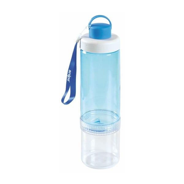Modrá fľaša na vodu Snips Eat&Drink, 750 ml