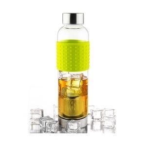 Zelená lahev na ledový čaj Asobu IT2GO, 420 ml
