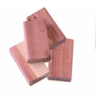 Set 4 piese din lemn de cedru pentru dulap Compactor imagine