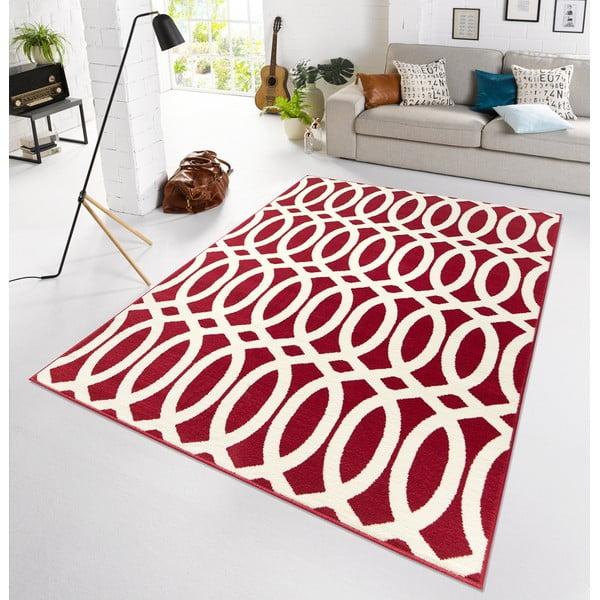 Červený koberec Schweda, 200x290 cm