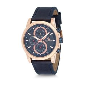 Pánské hodinky s koženým řemínkem Bigotti Milano Lirado
