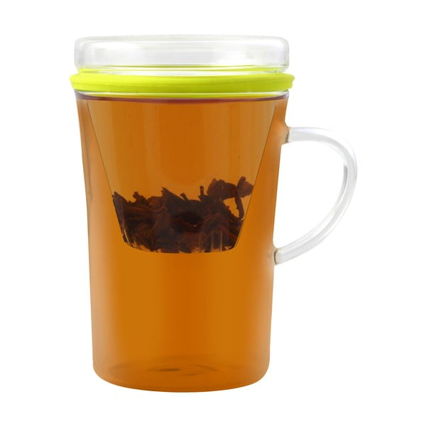 Cană de ceai cu sită Vialli Design Amo, 300 ml
