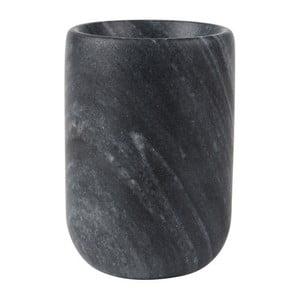 Vază din marmură Zuiver Cup, negru