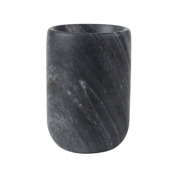 Čierna mramorová váza Zuiver Cup