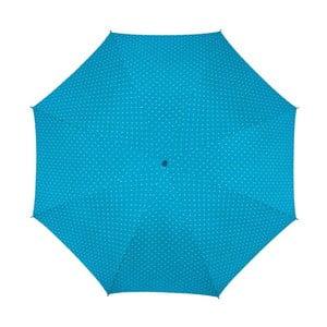 Deštník Ambiance Happy Rain Bleu