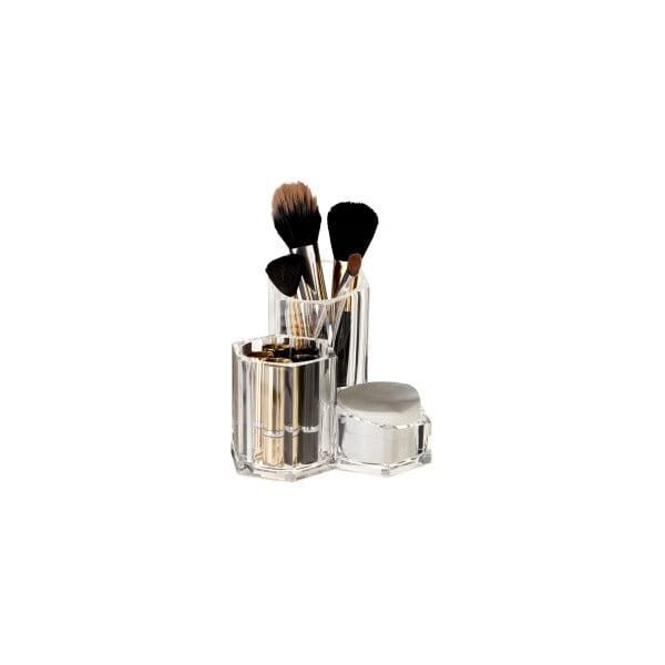 Organizator pentru cosmetice Premier Housewares Compart, 3 compartimente