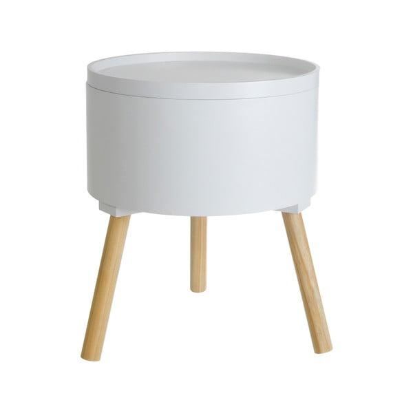 Kávový stolek Cosas de Casa Nordic Style s odnímatelným víkem