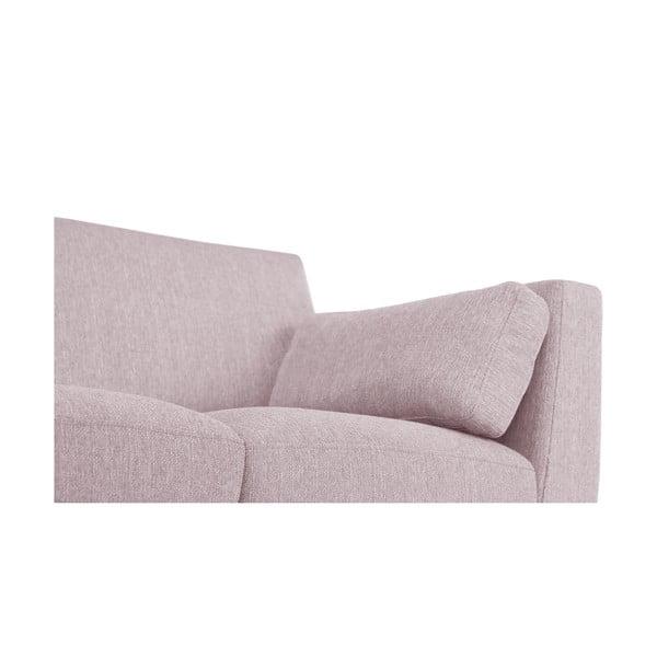 Pudrově růžová dvoumístná pohovka Jalouse Maison Elisa