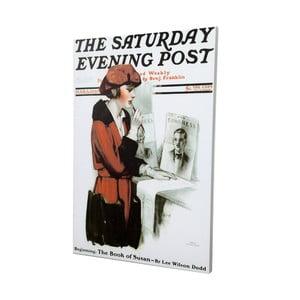 Plátno Saturday Evening Post, 50x70 cm