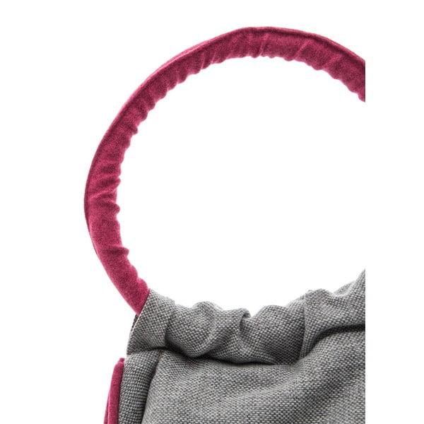 Sedací vak Vivonia Indoor Grey/Pink