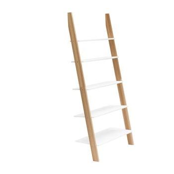 Raft în formă de scară Ragaba ASHME, lățime 85 cm, alb imagine