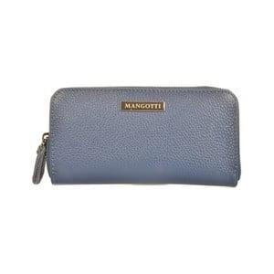 Modrá peněženka Mangotti Bags Alberta