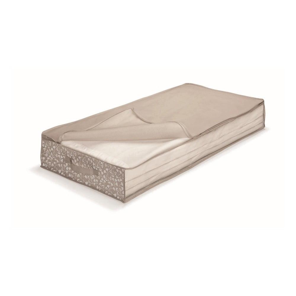 Hnědý uložný box pod postel Cosatto Bocquet, délka 100 cm