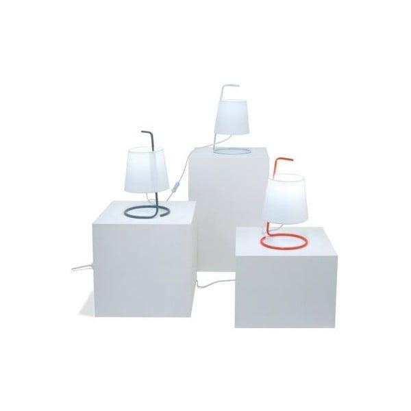 Stolní lampa Take Away, bílá