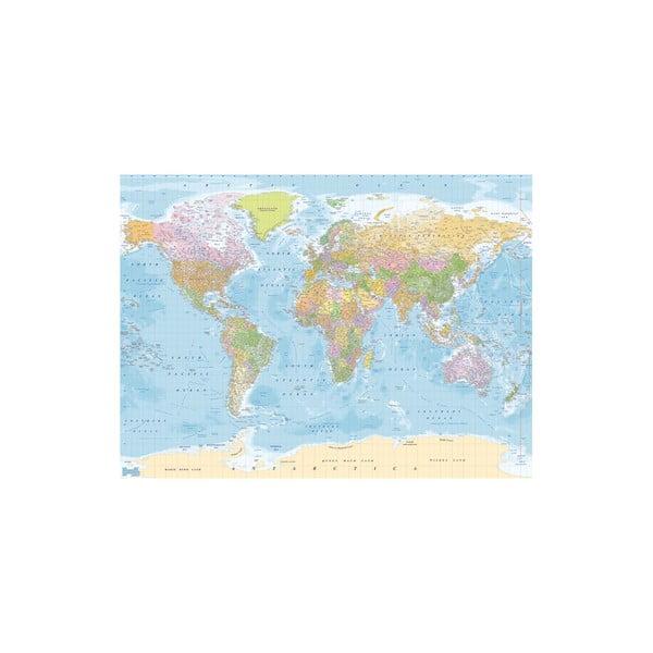 Velkoformátová tapeta Bluemap, 315x232cm