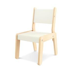 Krémová dětská židle Timoore Simple