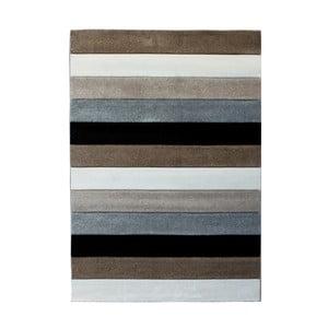 Šedohnědý koberec Tomasucci Lines, 160x230cm