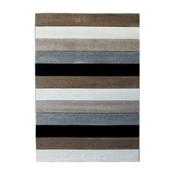Covor Tomasucci Lines, 160 x 230 cm, gri maro de la Tomasucci