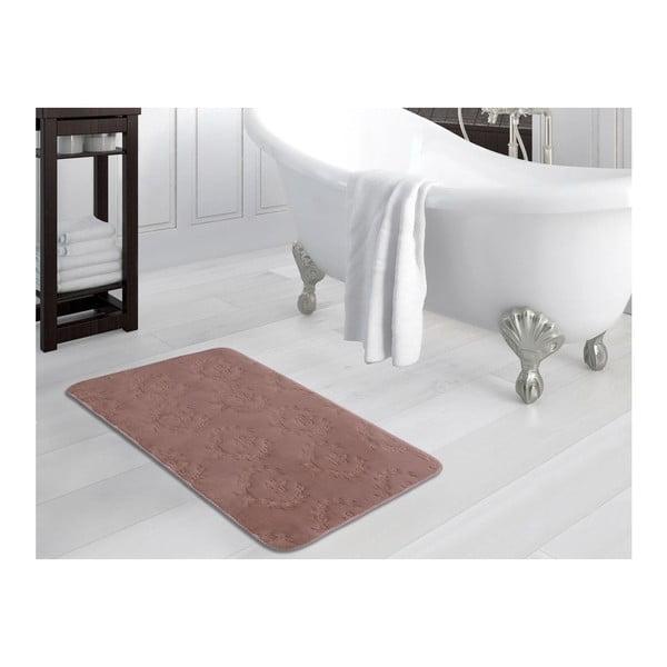 Starorůžová koupelnová předložka Nala, 70x110cm