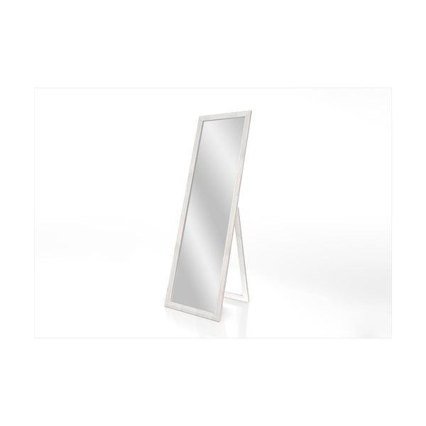 Stojací zrcadlo s bílým rámem Styler Sicilia