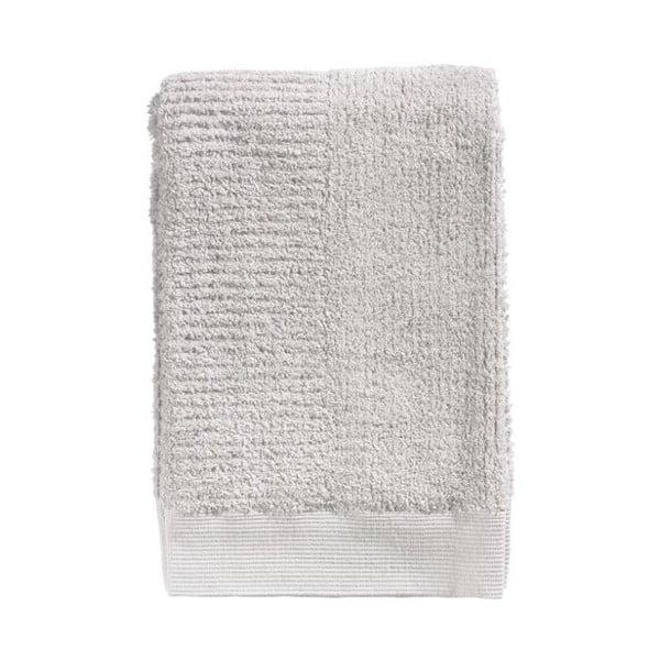 Classic világos szürke pamut fürdőlepedő, 70 x 140 cm - Zone