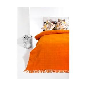 Přehoz Owen 160x220 cm, oranžový