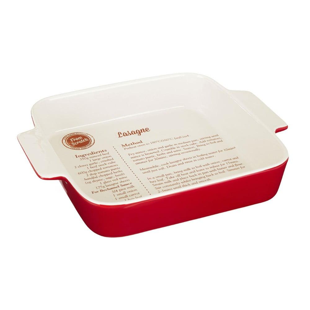 Pečící forma s receptem na lasagne Premier Housewares From Scratch