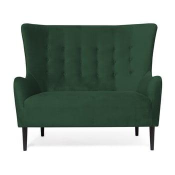 Canapea cu 2 locuri Vivonita Blair Emerald, verde de la Vivonita