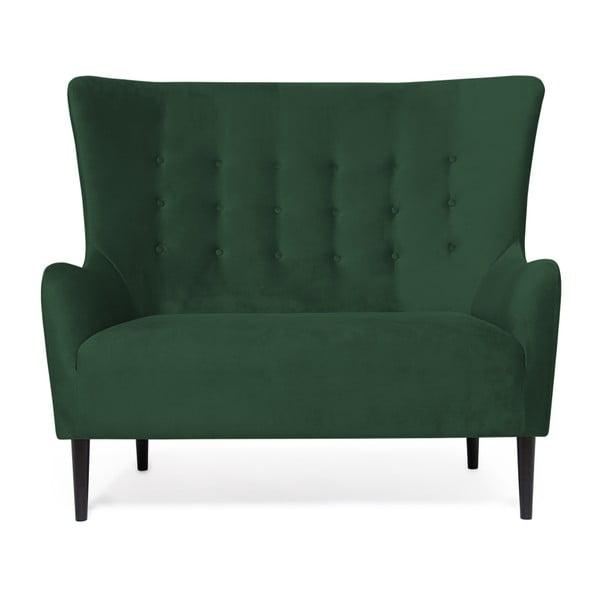Zelená dvojmiestna pohovka Vivonita Blair Emerald