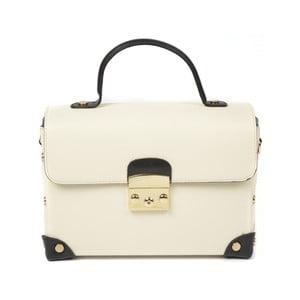 Béžová kožená kabelka Luisa Vannini Celia