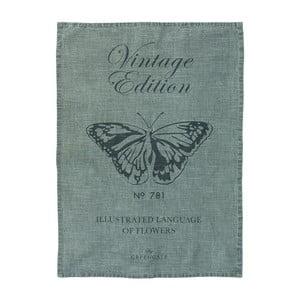 Utěrka Butterfly Grey, 50x70 cm