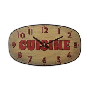 Nástrěnné hodiny Cuisine Ocre