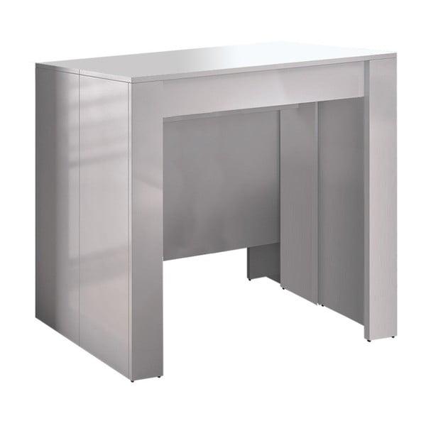 Biely rozkladací konzolový stolík Evergreen House Granada