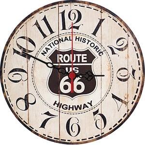 Nástěnné hodiny Historic Highway, 30 cm