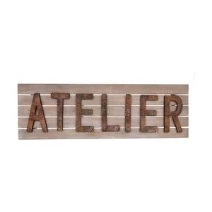 Dřevěná cedule Antic Line Atelier