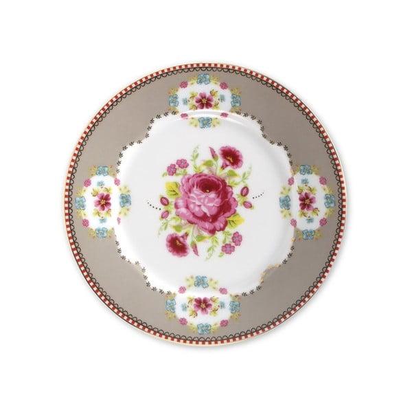 Dezertní talířek 17 cm, khaki