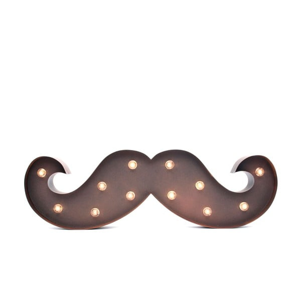 Dekorativní osvětlení Moustache