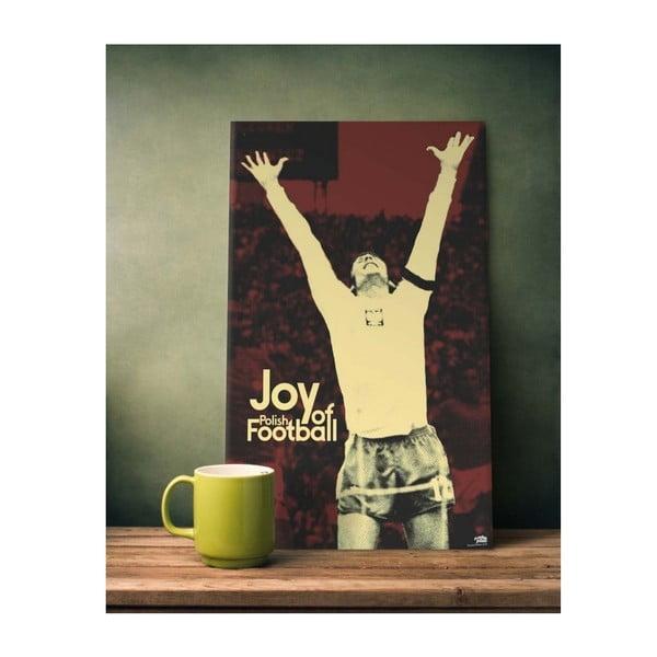 Cedule Joy of Football, 56x45 cm