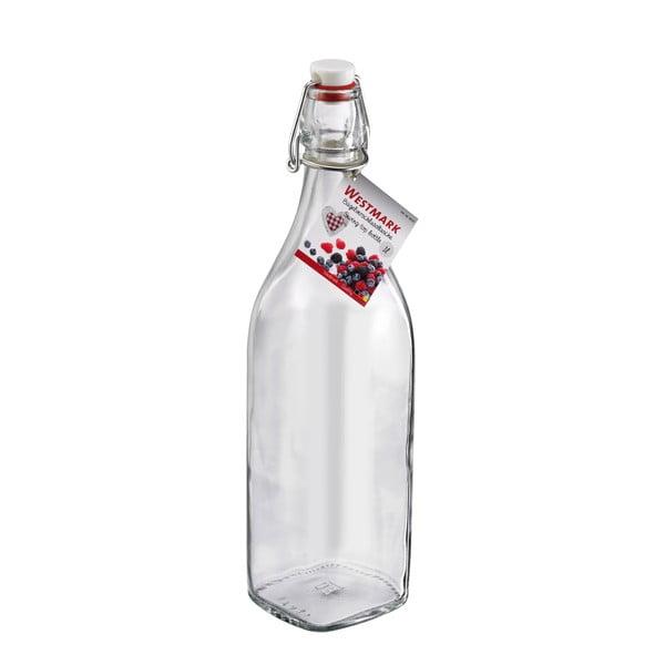 Skleněná lahev s uzávěrem Westmark, 1000 ml