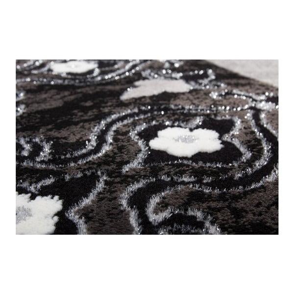 Koberec Instinct 757 Black, 80x300 cm