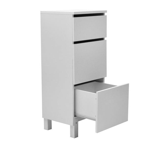 Bílé kancelářské zásuvky RGE Box, 95x39cm