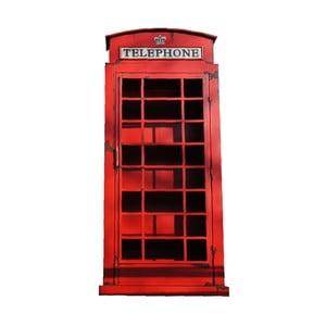 Červená knihovna Antic Line Cabine Telephonique