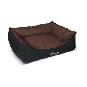 Psí pelíšek Expedition Bed M 60x50 cm, čokoládový